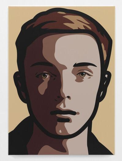 Julian Opie, 'Finn eyes straight, head right', 2013