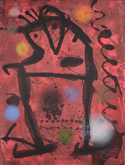 Joan Miró, 'Large Cave Paintings VII | Gran Rupestres VII', 1979