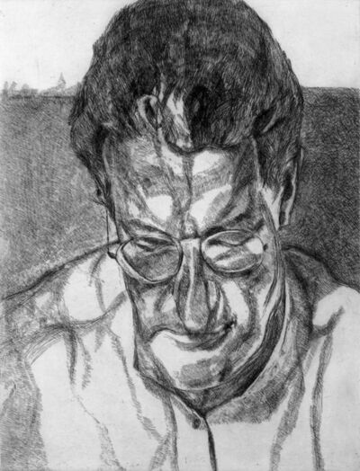 Lucian Freud, 'The Painter's Doctor', 2006