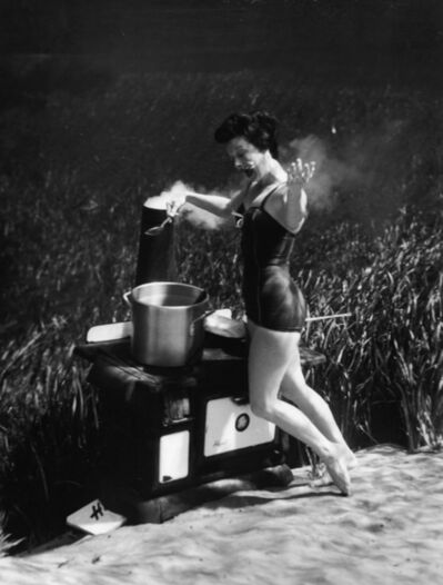 Bruce Mozert, 'Silver Springs Underwater (cooking)', 1940-1970