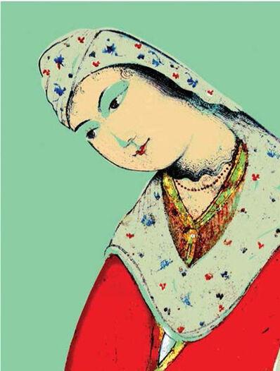 Hojat Amani, 'Cheeky Face Safavid 2 ', 2012