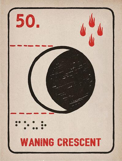 Daniel Martin Diaz, '50. Waxing Crescent', 1989