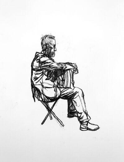 Sean Henry, 'Seated Figure (sketch 4)', 2015