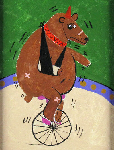 Alex Boies, 'Bear on Unicycle', ca. 2000