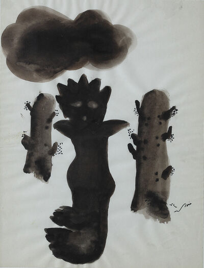 Fateh Moudarres, 'Untitled', ca. 1974
