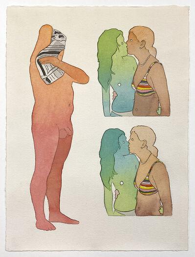 Dan Gluibizzi, 'Pool Kiss', 2020