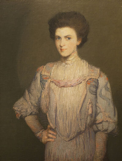 Julian Alden Weir, 'An American Girl'