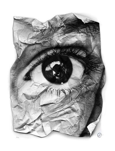 JR, 'L'oeil froissé', 2011