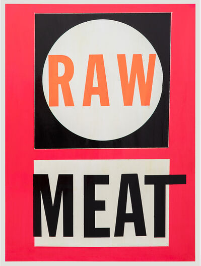 Cali Thornhill Dewitt, 'Raw Meat ', 2019