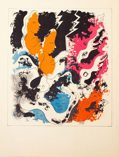 Carlos Merida, 'Estampas de Popol Vuh (Plate IX)', 1943