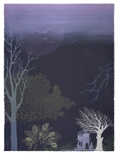 Chitra Merchant, 'Temple Series - Night VII', 2016