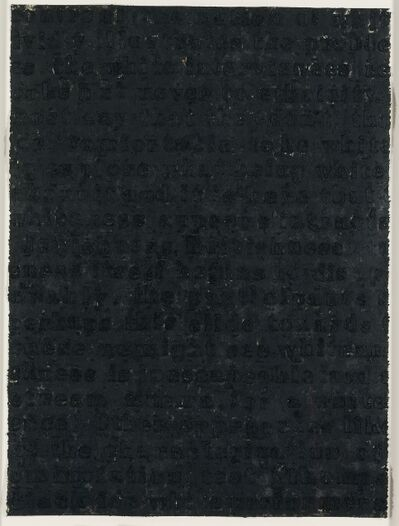 Glenn Ligon, 'Study for White Series', 1996