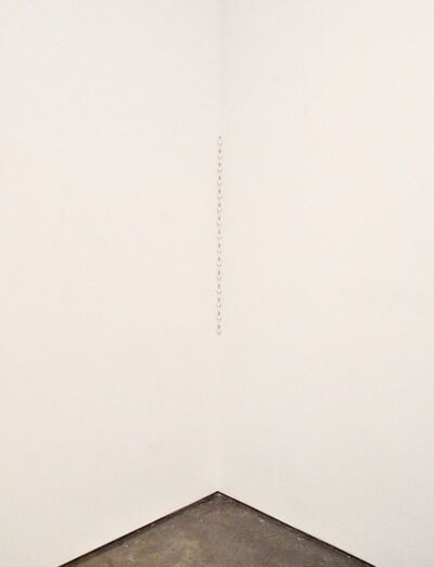Julian Dashper, 'Untitled (English White Chain)', 1992