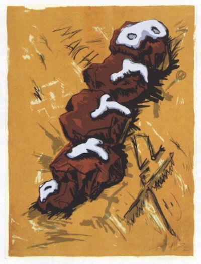 Jörg Immendorff, 'BrrrD', 1982