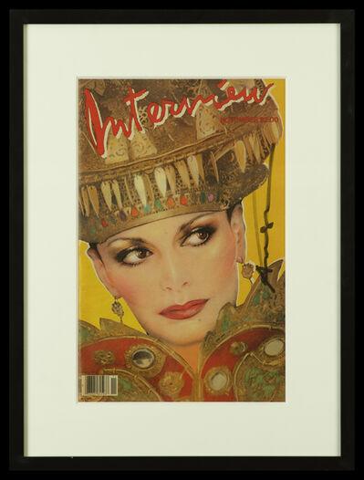 Andy Warhol, 'Diane von Fürstenberg - Interview Magazine Cover', 1981