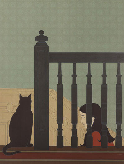 Will Barnet, 'The Bannister', 1981