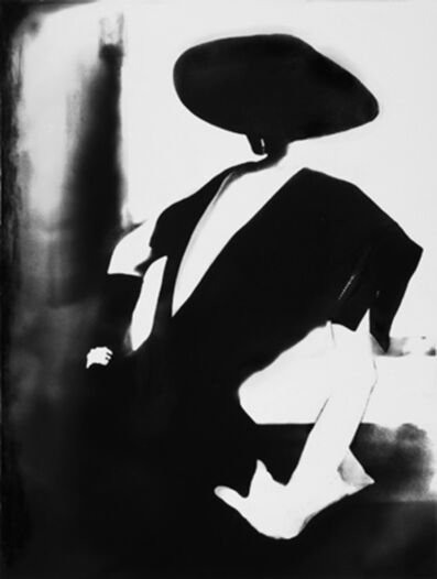 Lillian Bassman, 'Black - With One White Glove, Barbara Mullen, Dress by Christian Dior, New York, Harper's Bazaar', 1950