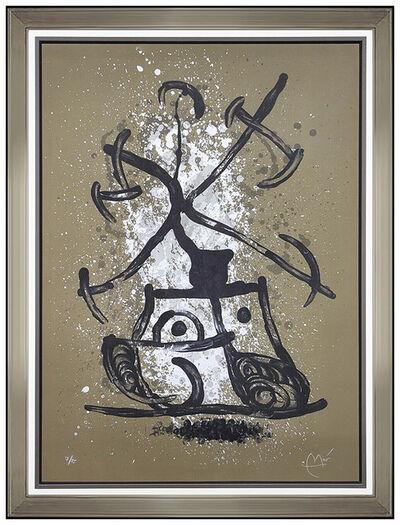 Joan Miró, 'L'Entraineuse Brun', 1969