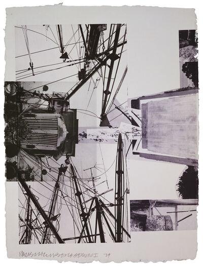 Robert Rauschenberg, 'Rookery Mounds - Steel Arbor', 1979