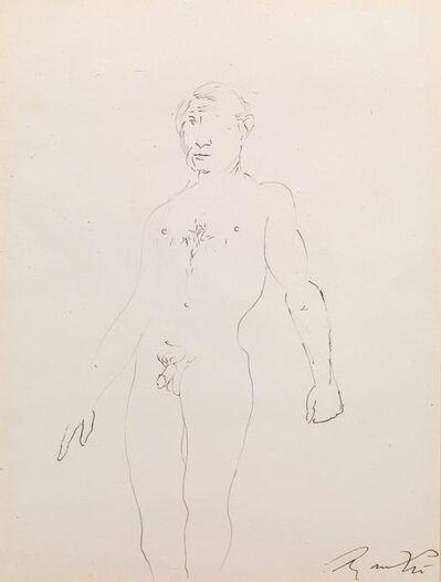 Giacomo Manzù, 'Men's Nude'