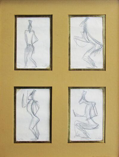 Diego Rivera, 'Cuatro Figuras', N/A