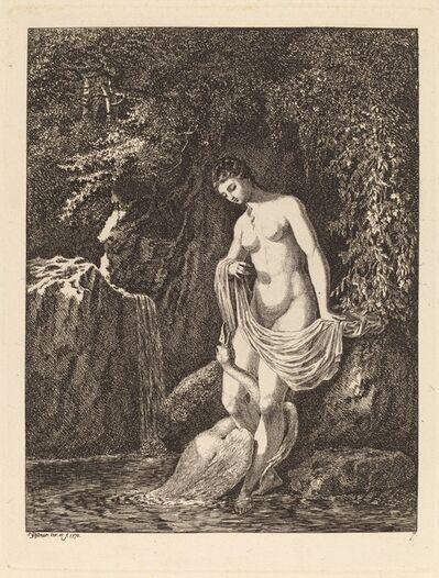 Salomon Gessner, 'Leda and the Swan', 1770