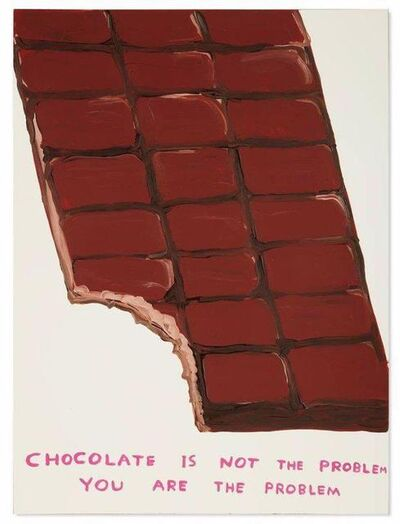 David Shrigley, 'Chocolate is not the Problem', 2020