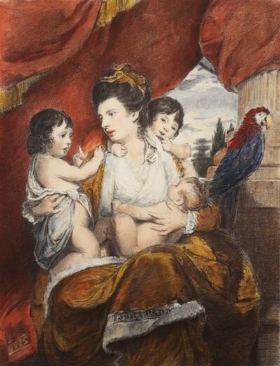 Joshua Reynolds, 'Cornelia, Lady Cockburn and Her Children', 1873