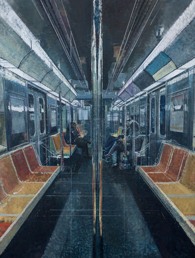 Bernardo Siciliano, 'Tender is the Night (Subway)', 2019