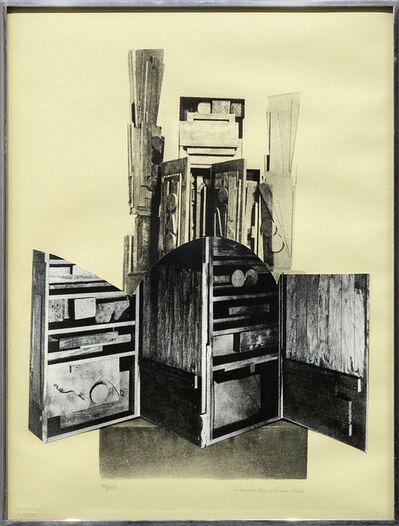 Louise Nevelson, 'Faรงade Suite', 1966