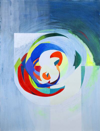 Gerri Rachins, 'Whiteout (RO,YG,B)', 2013