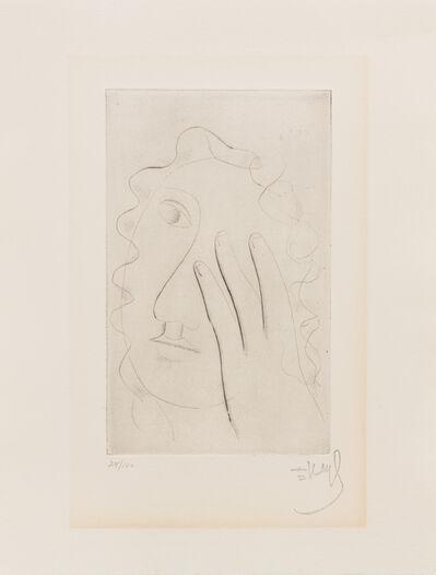 Fernand Léger, 'Tete de femme'