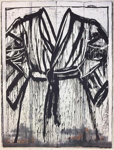 Jim Dine, 'Visiting Koichi, at Honmura An', 2019