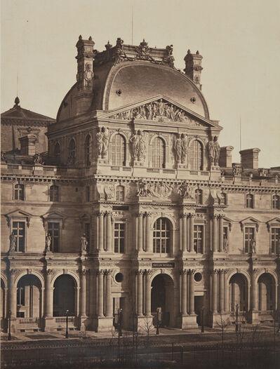 Bisson Frères, 'Pavillon Richelieu, the Louvre', circa 1858