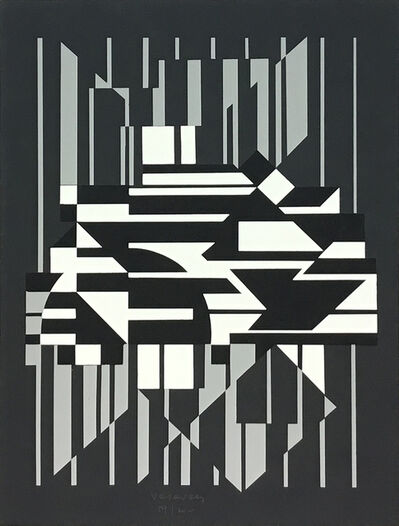 Victor Vasarely, 'Horn', 1956