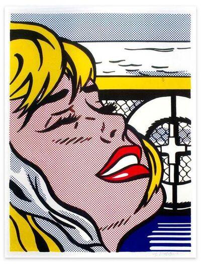 Roy Lichtenstein, 'Shipboard Girl - Original Lithograph by Roy Lichtenstein - 1965', 1965