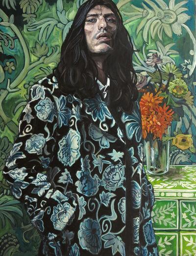Belinda Eaton, 'Man With Flowers', 2014