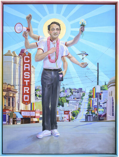 Carl Grauer, 'Harvey Milk (You Have Got to Give Them Hope)', 2019