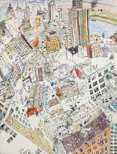 Olive Ayhens, 'Urban Leap', 2010