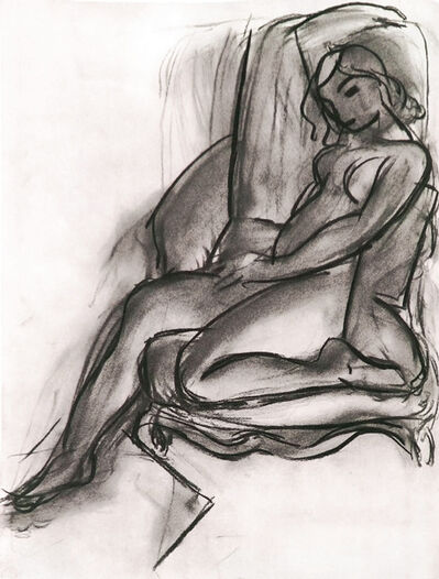 Henri Matisse, ' Fusain Nu III (Charcoal Bare III)', 1958