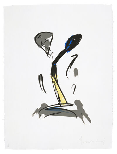Claes Oldenburg, 'Extinguished Match', 1990