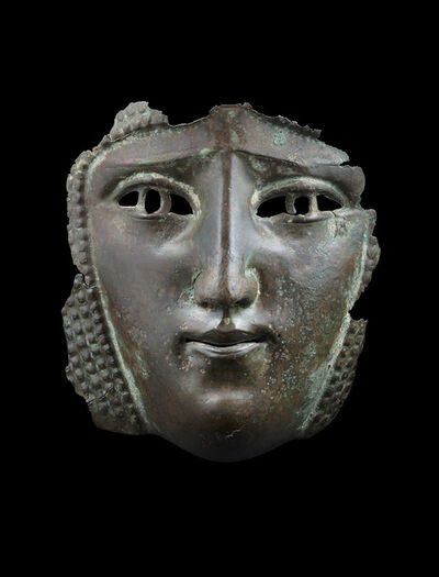 Unknown Roman, 'Female Mask from a Parade Helmet', Second to third century AD