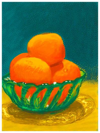David Hockney, 'Oranges', 2010