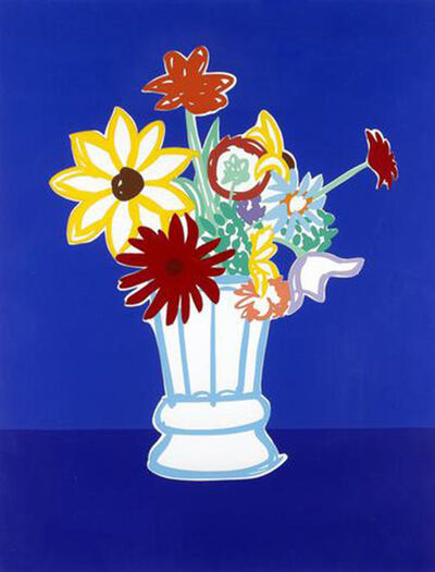 Tom Wesselmann, 'Country Bouquet With Blue', 1991