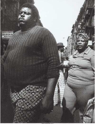 Leon Levinstein, 'Couple, Lower East Side, New York (from Hipsters, Hustlers and Handball Players)', circa 1970