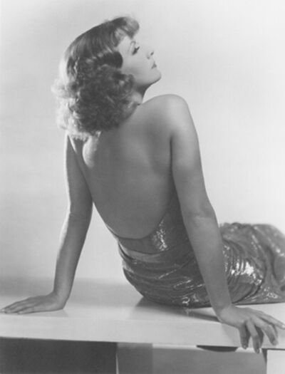 Clarence Sinclair Bull, 'Greta Garbo, Susan Lenox', 1931