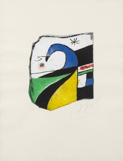Joan Miró, 'Gaudí X', 1979