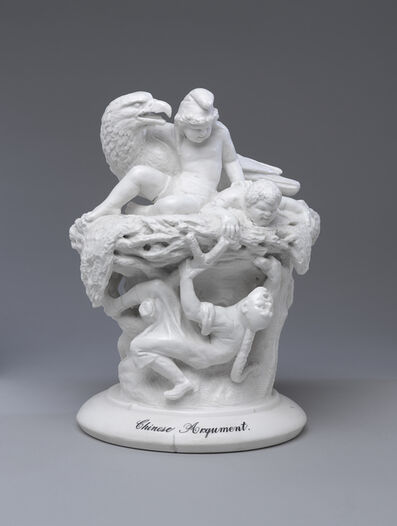 "Karl L. H. Müller, '""Chinese Argument"" Figural Group', ca. 1882"