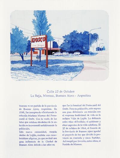 Andrea Canepa, 'Todas las calles del año. 25 de octubre'
