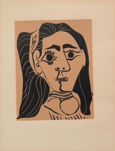 Pablo Picasso, 'Jacqueline au bandeau III', 1962